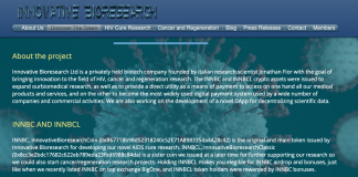 Innovative Bio Research Home Page