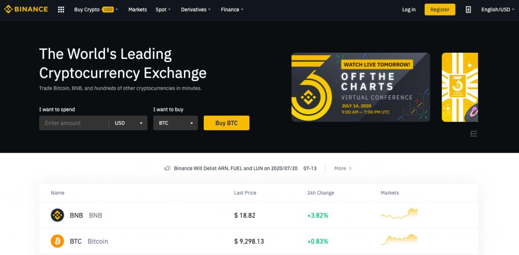 Binance Coinbase Alternative