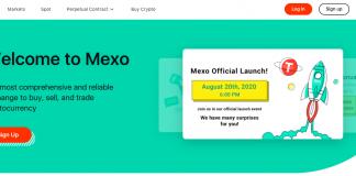 Mexo Crypto Exchange